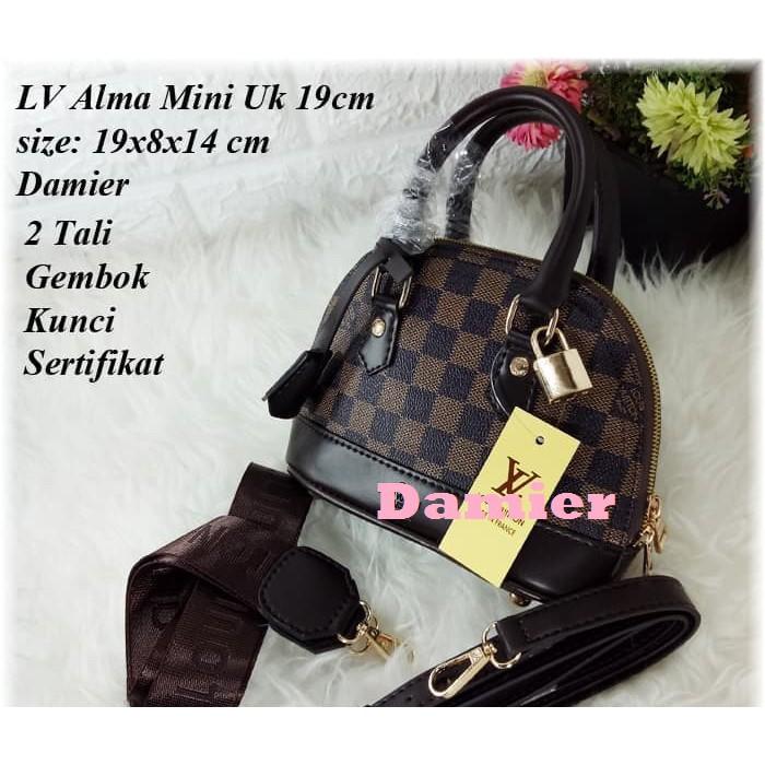 ae0d8b3d8641 LV Alma mini uk 18 | Shopee Indonesia