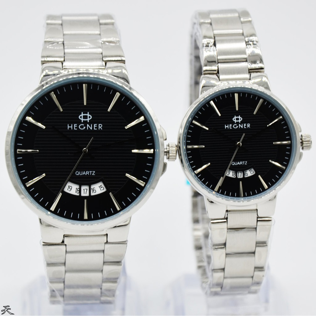 Reddington Couple Edition D44H260RD8010CHTMM Analog Jam Tangan Pasangan Stainless Steel Chain | Shopee Indonesia