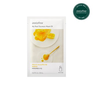 [innisfree] My Real Squeeze Mask - Manuka Honey EX (Moisture)