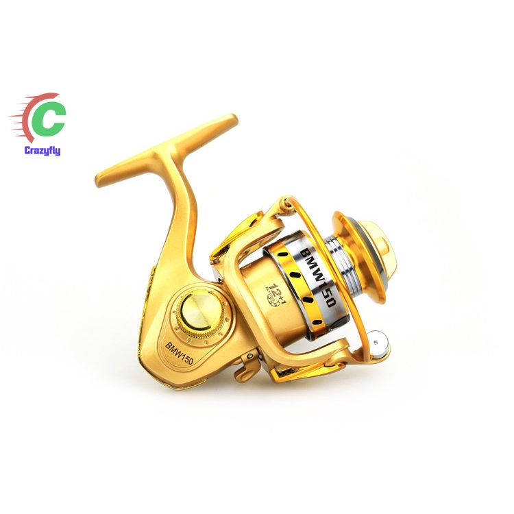 Mini 12+1BB Ball Bearing Left//Right Interchangeable Rocker Arm Fishing Reel