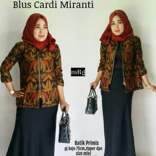 Jual Baju Batik Wanita Modern Murah Untuk Kerja Kantor Shopee