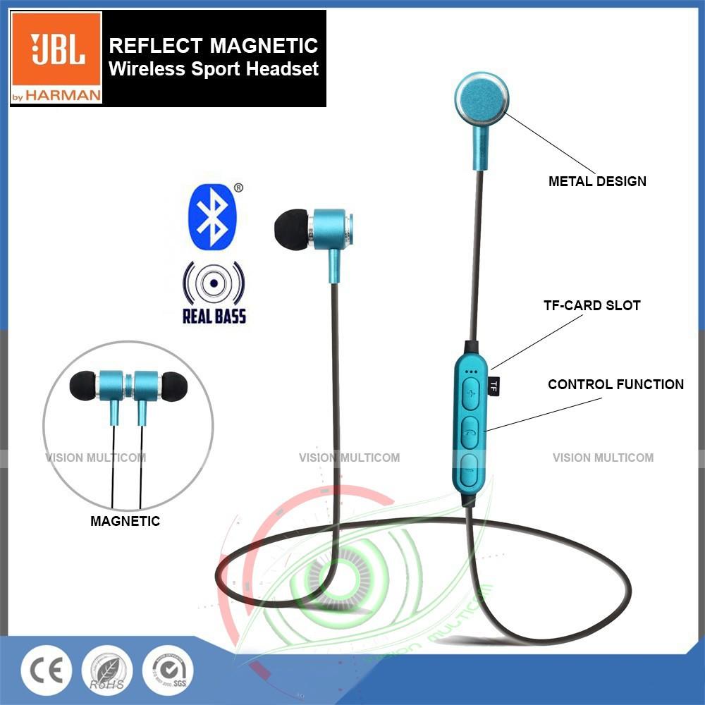Turun Harga Headset Bluetooth Jbl Reflect Sport Magnetic K02 V4 2 Edr Limited Shopee Indonesia