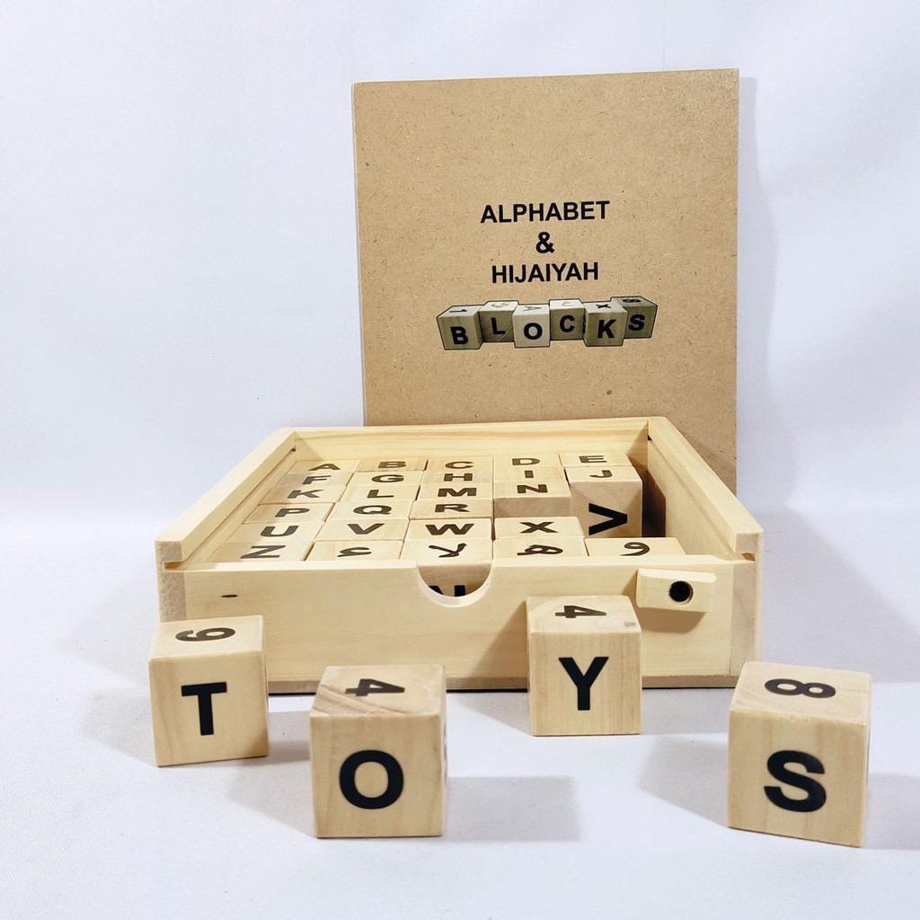 Moku Alphabet Blocks