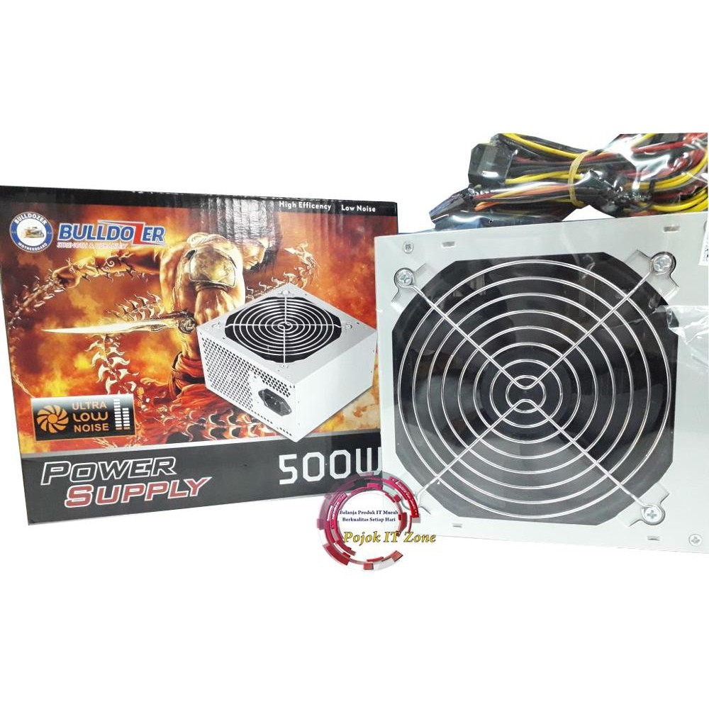 Dazumba 750w Modular 80 Gold 24k Power Supply Shopee Indonesia 80plus