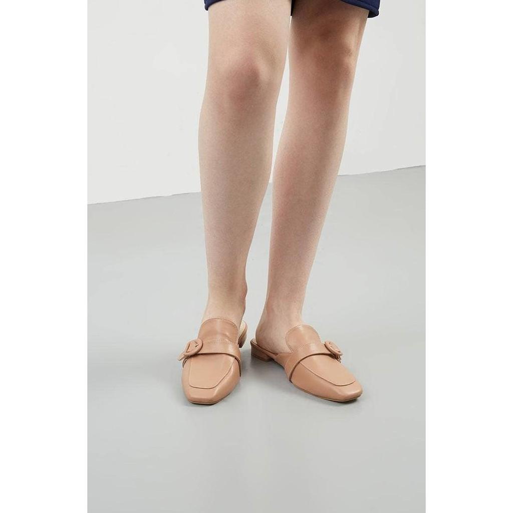 Amazara Eden White Mules Shopee Indonesia Jordyn Nude Glossy Heels Ivory 36
