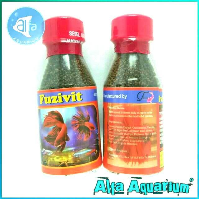 Fuzifit Super Murnivit Makanan Ikan Cupang Yang Berupa Serbuk