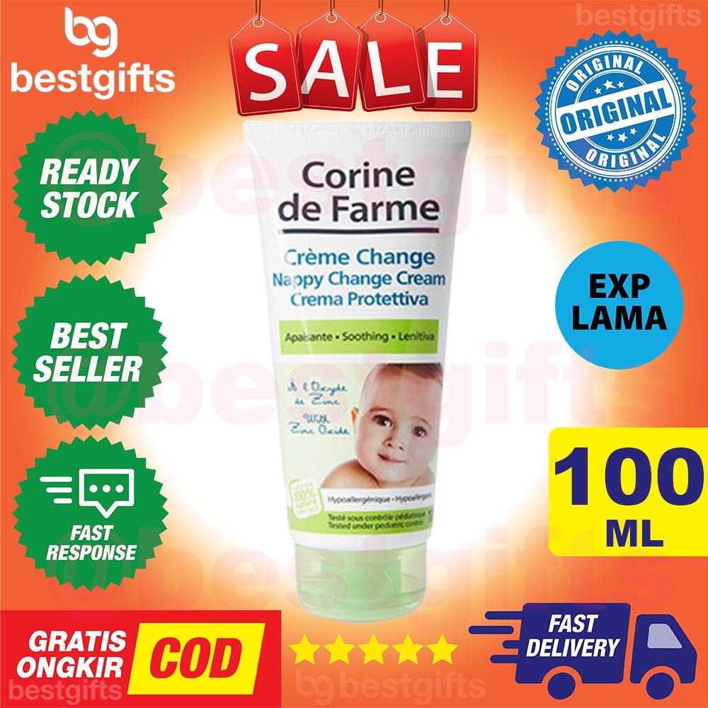 CORINE DE FARME DIAPER RASH NAPPY CHANGE CREAM PELEMBAB ...