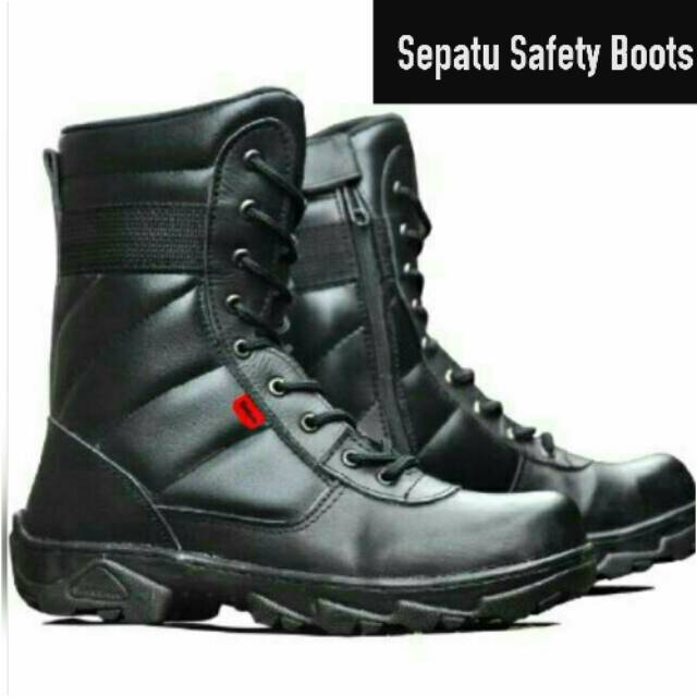 GUTEN INC - Artemis Moc Toe Boots   Sepatu Boots Kulit Asli Berkualitas  e6cb237b2c