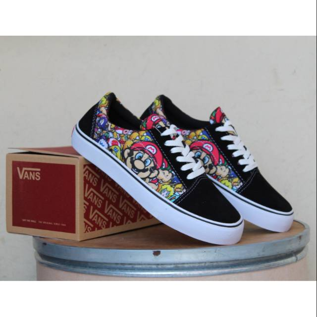 TOP SELLER ! VANS MARIO BROS  7933fb28c4