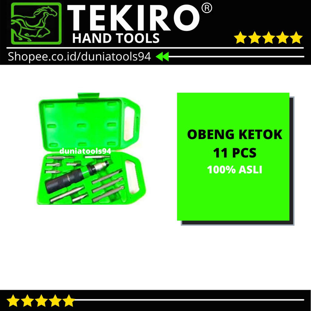 OBENG KETOK 11 PCS / OBENG PUKUL / OBENG KETOK TEKIRO