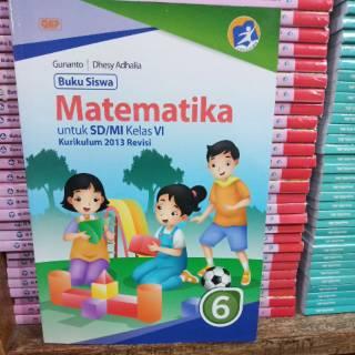 Buku Esps Matematika Kelas 6 Sd Mi Erlangga Shopee Indonesia