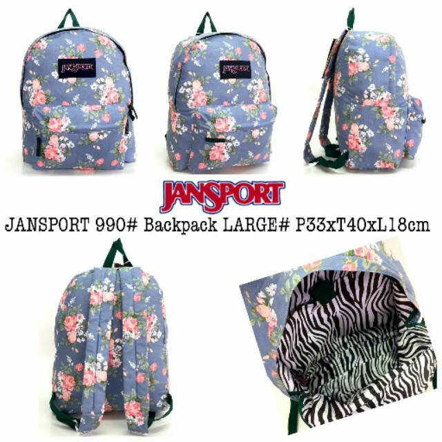 Ransel Import Jansport Backpack Large Polos  a885f0b076