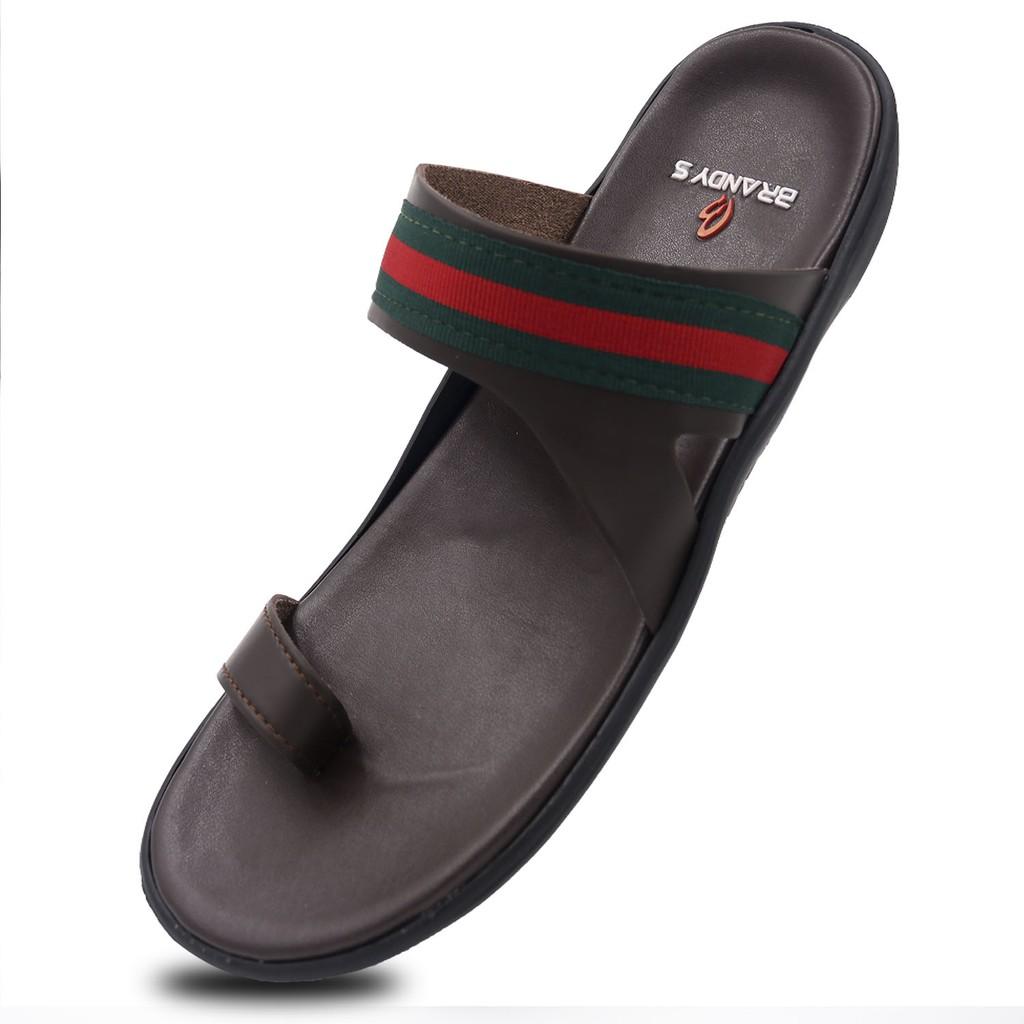 Sandal Pria Lacoste Sandal Kulit Premium  d21e52c73c