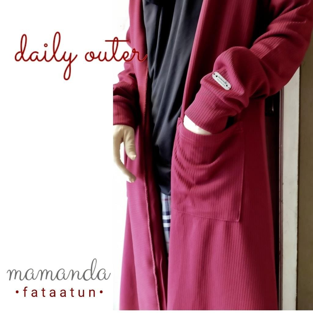 Outer Remaja/Dewasa Daily Outer by Mamanda