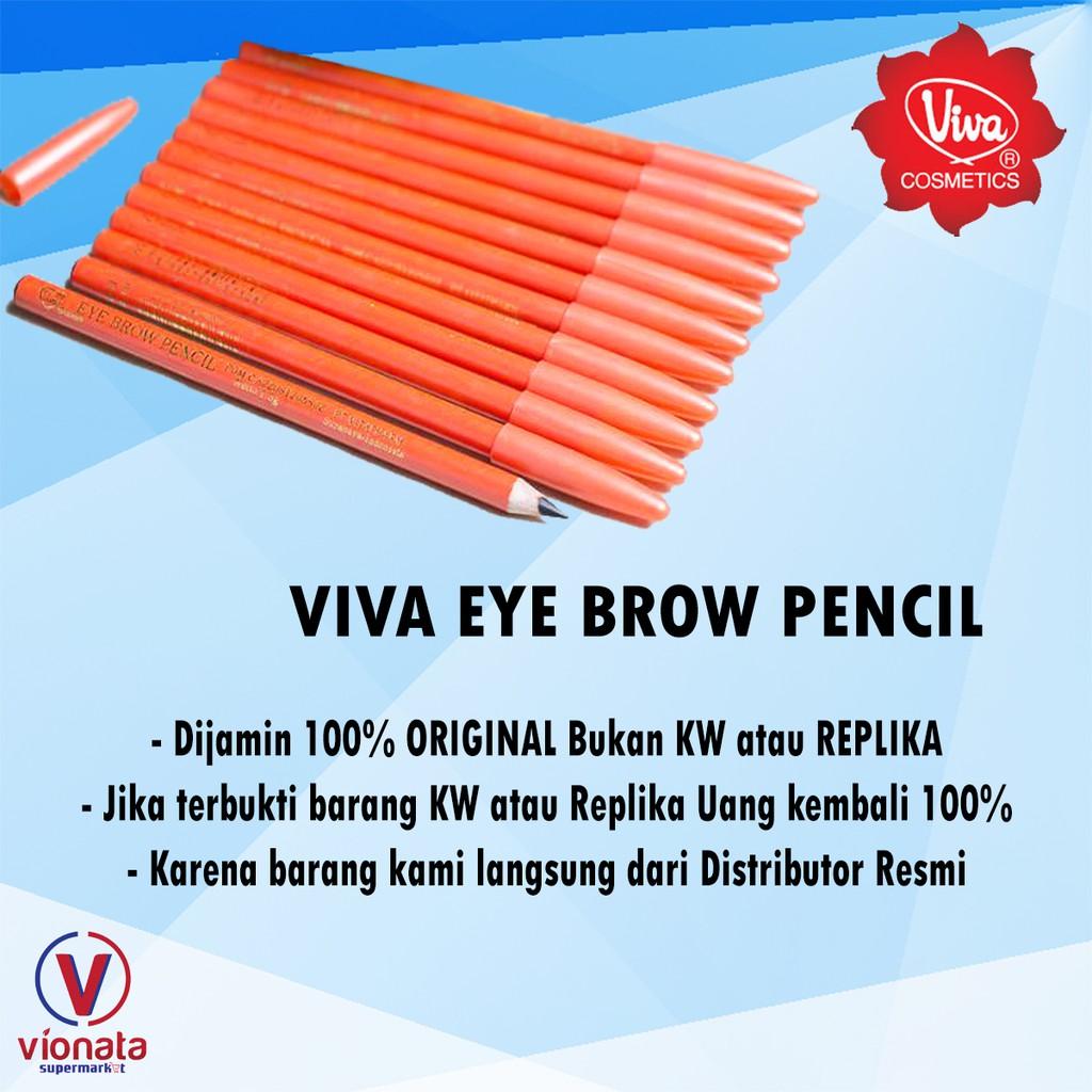 Viva Pensil Alis Original Shopee Indonesia Eyebrow
