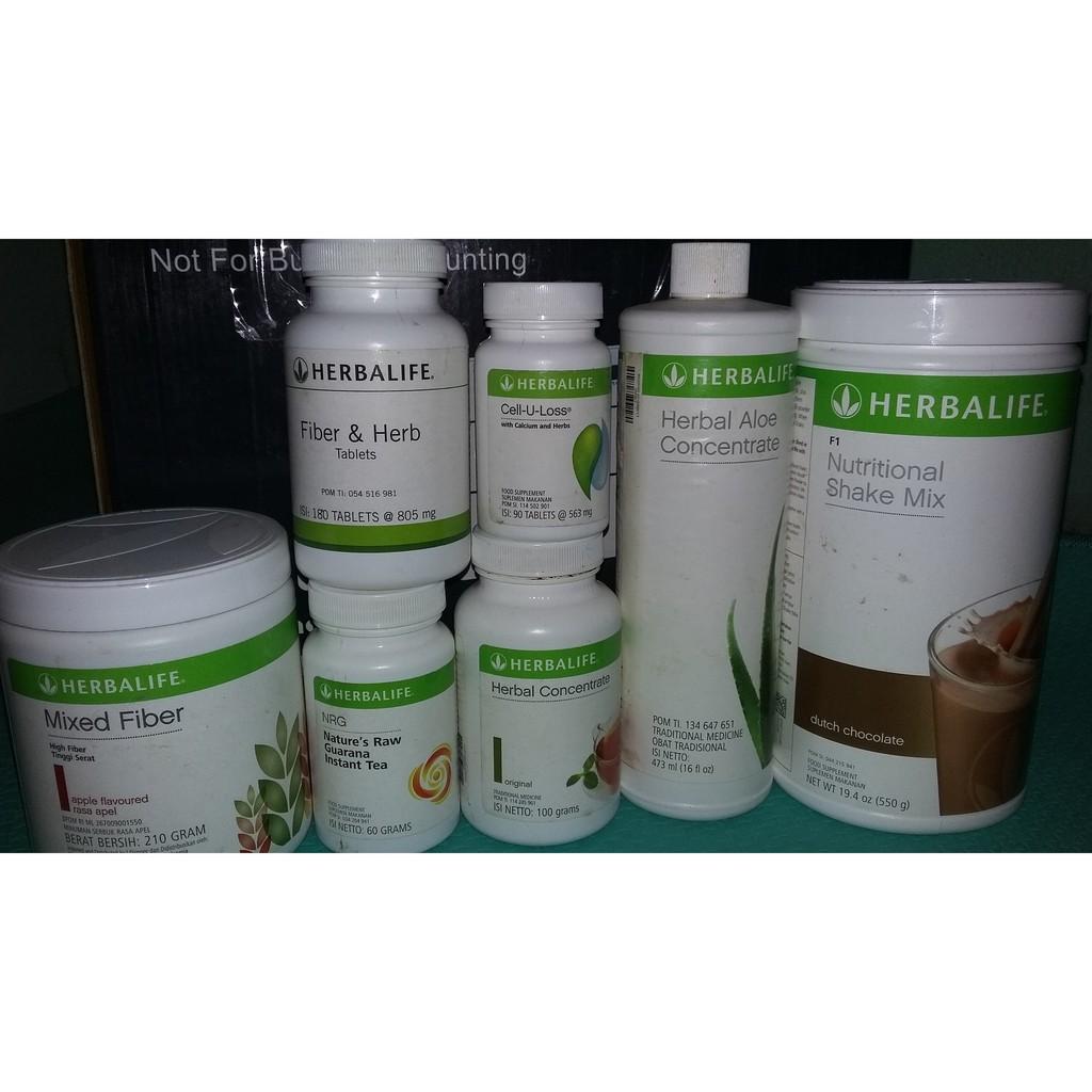 Paket Ultimate 7item Herbalife Paket Diet Paling Cepat Shopee