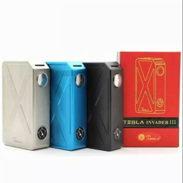 Tesla Invader Iii 240w Mod Only Clone Shopee Indonesia