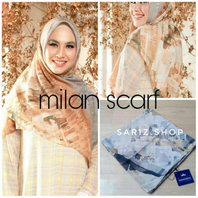 Mandjha Ivan Gunawan Milan Scarf Series Shopee Indonesia