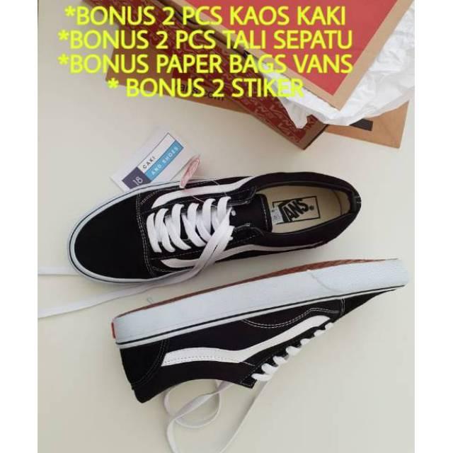 Sepatu Vans Classic Slip On SP Black White Navy Red BNIB Original Premium  c394fdbf03