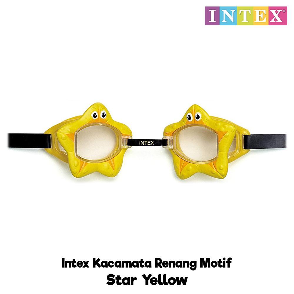 Intex Kacamata Renang Motif Kaca Mata Renang Anak Kacamata Menyelam | Shopee Indonesia