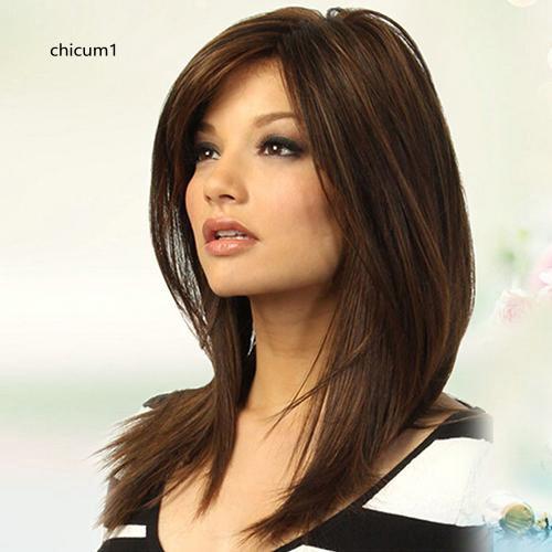Straightened Long Layered Black Hair 84