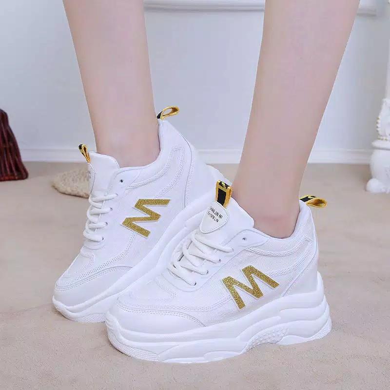 Herdian M 01 Sepatu Sneakers Wanita Shopee Indonesia