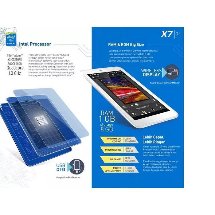 Advan Vandroid X7 Tablet