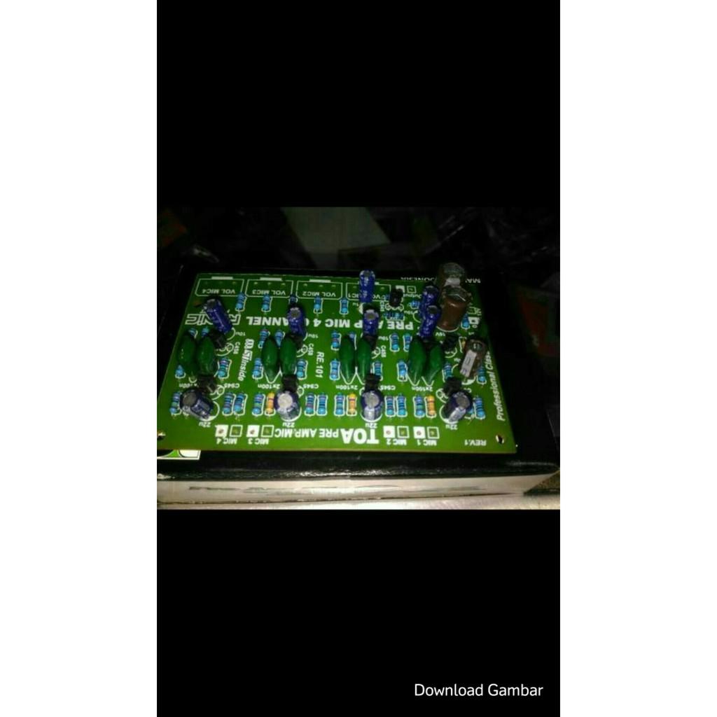Termurah Kit Penguat Mic Pre Amp Mixer Yamaha 8 Potensio Jgos17 Philips In Ear Headphone With She1405 Black Shopee Indonesia