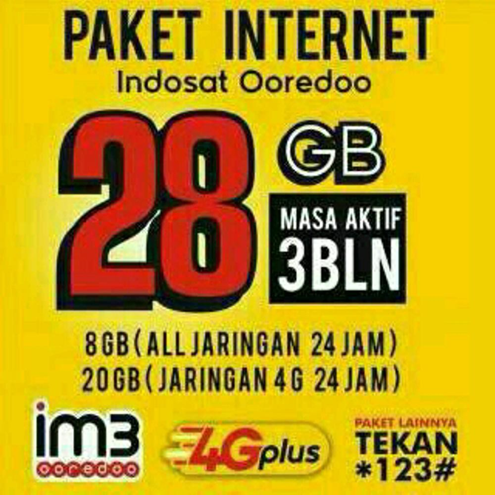 Jual Kartu Perdana Data Indosat 42gb Kuota 42 Gb Regular 24 Jam Limited Shopee Indonesia
