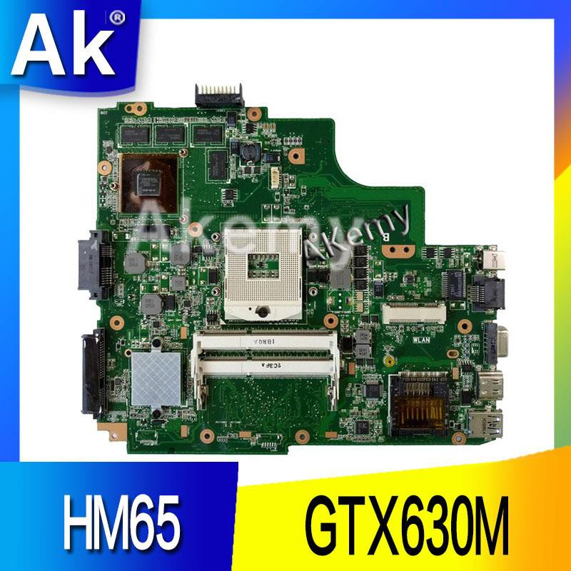 motherboard AK K43SM laptop Motherboard For ASUS X43S A43S K43S A83S on
