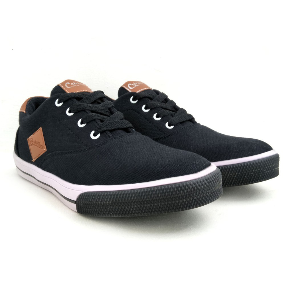 Dr Kevin Men Sneakers 13363 2 Color Options Black 13369 Hitam 41 Red Shopee Indonesia