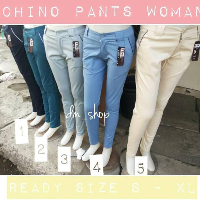 Chino Wanita Temukan Harga Dan Penawaran Celana Online Terbaik