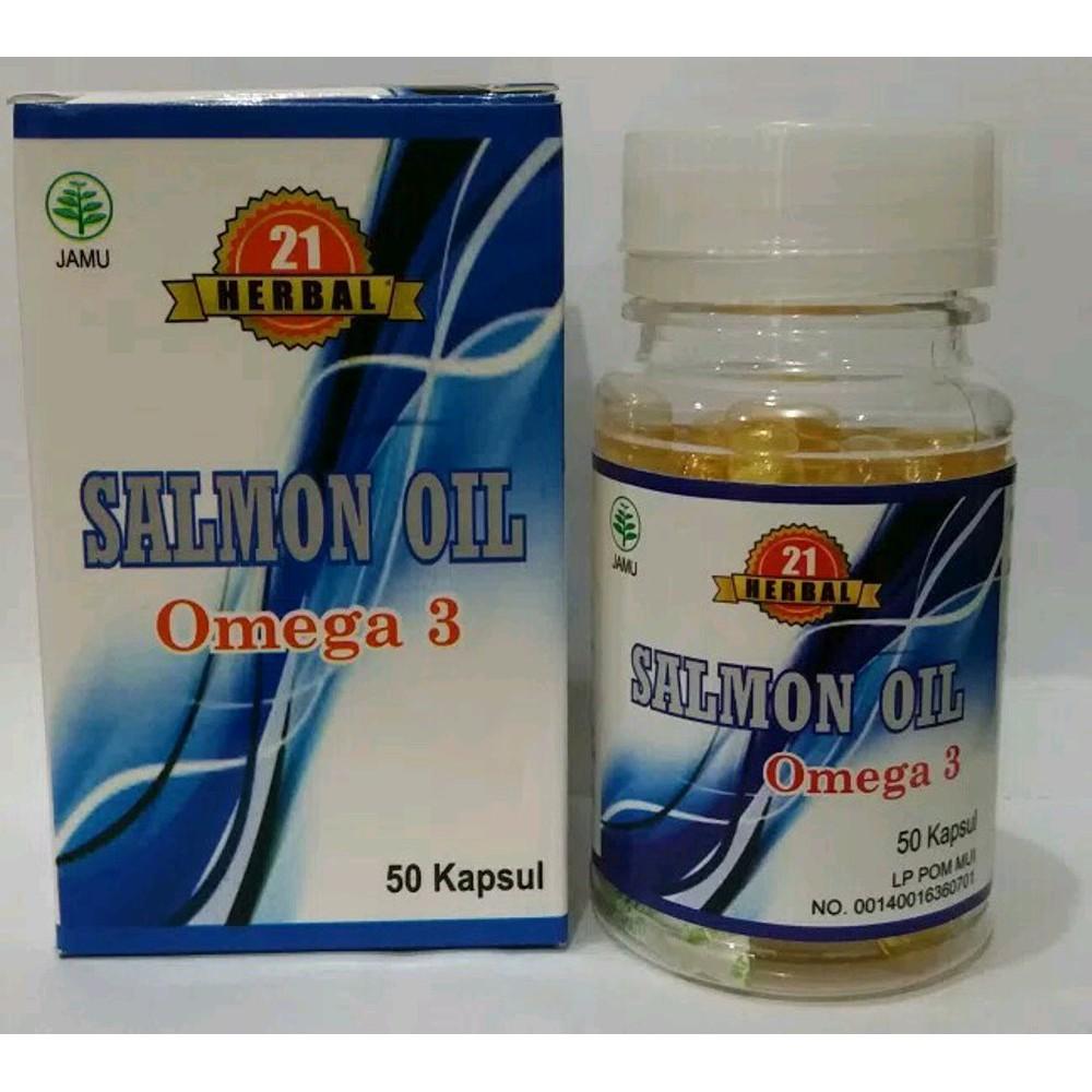 Minyak Ikan / Fish Oil Gold Omega 3 .