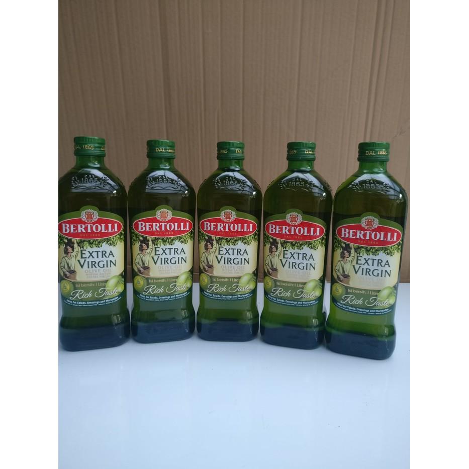Minyak Zaitun Extra Virgin Olive Oil Bertolli 1 Ltr Shopee Indonesia Borges 250 Ml