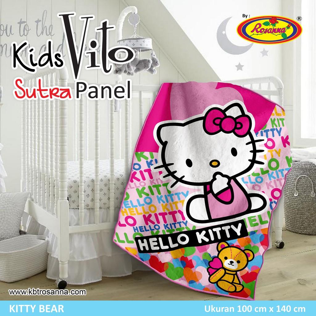Selimut Vito Kids Sutra Panel 100x140 Mickey Train Daftar Harga Submarine Rosanna