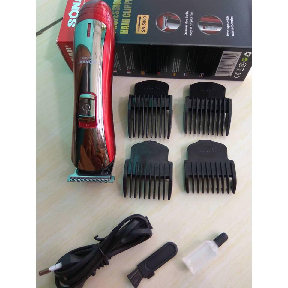 Alat Cukur Rambut Kumis Jenggot   Hair Clipper Sonar 5800  49913cdae6