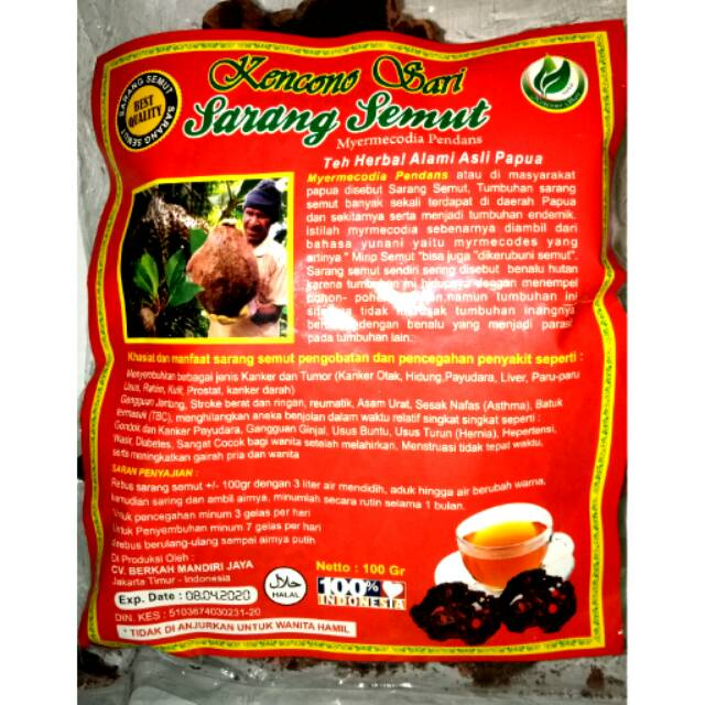 Sarang Semut Papua Sarmut Rebus .