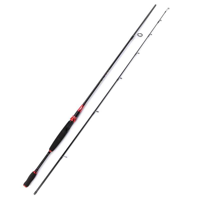 MC - Kabinwang Joran Pancing Gun Handle Carbon Fiber 2 Segments