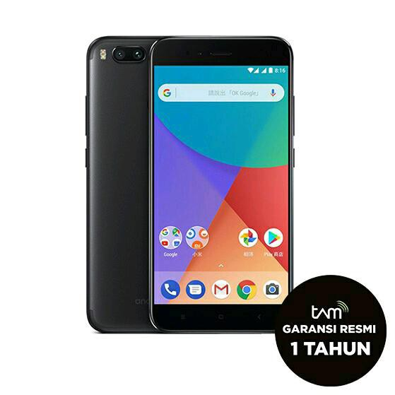 Mi A1 4GB/64GB Xiaomi MiA1 Android One Garansi Resmi TAM - HITAM | Shopee