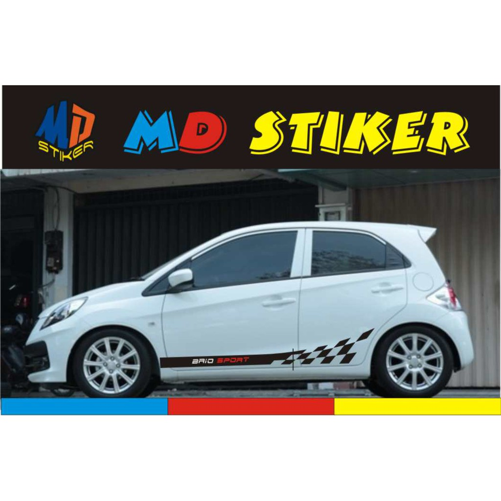 Sticker Stiker Mobil Cutting Variasi Brio Agya Ayla Sirion Brv Hrv Crv Jazz Yaris Mirage Terbaru Shopee Indonesia