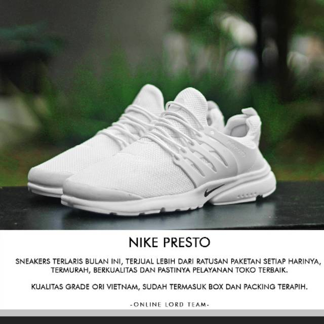 Diskon! Nike Air Presto Grade Ori Vietnam 062cbd2208