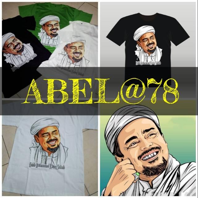 Kaos Habib Rizieq Shopee Indonesia