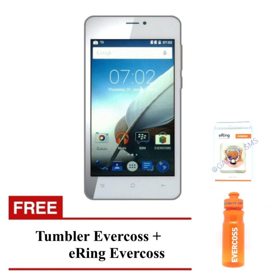 Evercoss Xtream 1 S45 Ram 1gb Rom 8gb Extra Bonus Shopee Evercross Extream Pro Indonesia