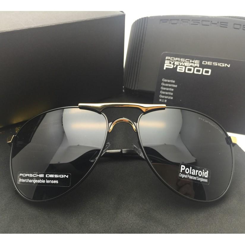 KacaMata Porsche Design Aviator Kaca Mata Hitam Porsche Sunglasses ... 0425e0623a