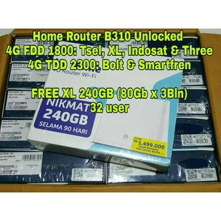 Home Router Huawei LTE CPE B315 UNLOCK ALL OPERATOR | Shopee