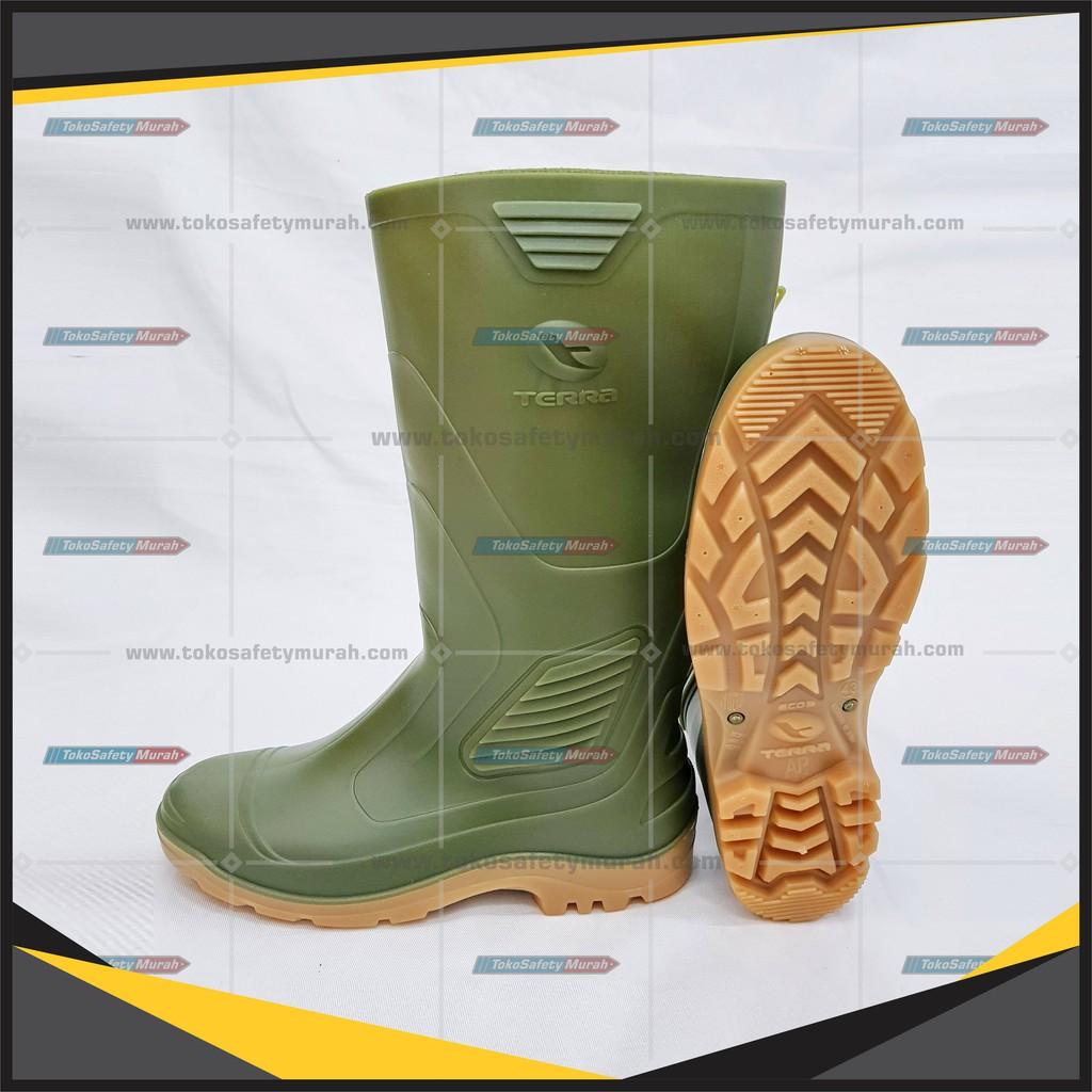 b4b4bd19456 Sepatu Boot AP Terra Eco 3 Sepatu Boot Karet Anti Air Sepatu Boot Proyek  Hijau Murah
