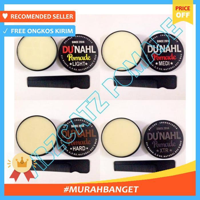 ... Du Nahl Light Medi Medium Hard Xtr Dunahl Pomade Oilbased Grooming Hair Wax & Pomade Shopee