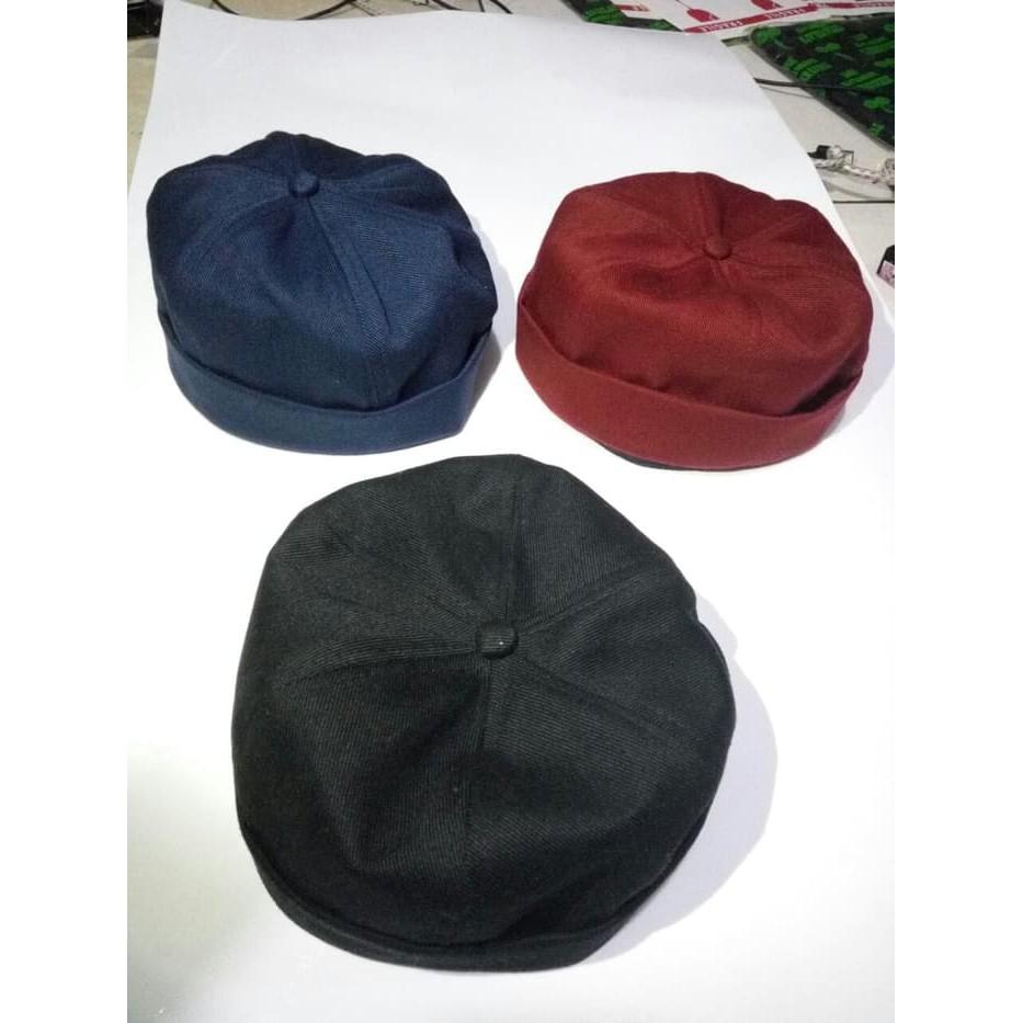Miki hat - miki caps - beani hat - beani caps - peci - kopiah sholat  kekinian  7448f832e615