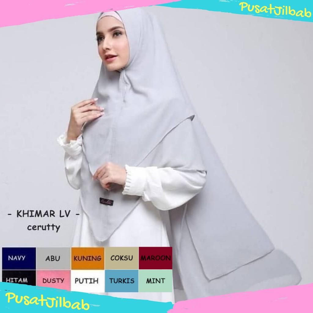 Jilbab Khimar Syari Jumbo Zaidah Qalisya Hijabfest