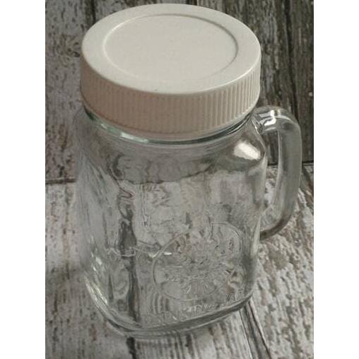 AIUEO Set Mug Jar - 450 mL - Biru Bening Kuning - 3 Buah | Shopee